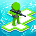 War Of Rafts: Crazy Sea Battle Lenovo Tab M8 (FHD) Game