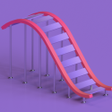 Coaster Builder: Roller Coaster Connect Puzzle Micromax Bolt Q339 Game