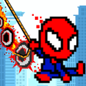 Rope Pixel Master - Rescue Hero Academy Android Mobile Phone Game