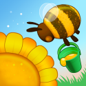 Bee Land - Relaxing Simulator Android Mobile Phone Game