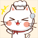 Cat Merge Cafe - Dessert Puzzle Android Mobile Phone Game