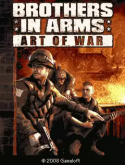 Brothers In Arms: Art Of War Java Mobile Phone Game
