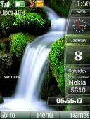 Animated Nature S40 Mobile Phone Theme