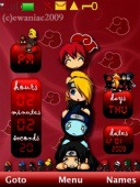 Akatsuki S40 Mobile Phone Theme