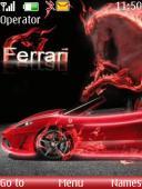 Ferrari S40 Mobile Phone Theme