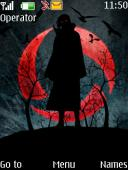 Sharingan Curse S40 Mobile Phone Theme