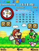 Mario Paper Gadgets S40 Mobile Phone Theme
