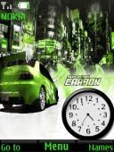 Nfs Carbon S40 Mobile Phone Theme