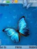 Butterfly S40 Mobile Phone Theme