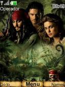 Pirates S40 Mobile Phone Theme