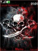 Skull S40 Mobile Phone Theme