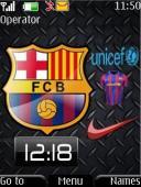 Barcelona S40 Mobile Phone Theme