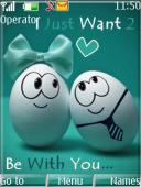Be With You S40 Mobile Phone Theme