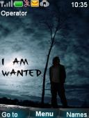 I Am Wanted S40 Mobile Phone Theme