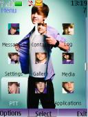 Justin Bieber S40 Mobile Phone Theme