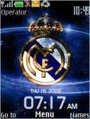 Los Galacticos Clock S40 Mobile Phone Theme
