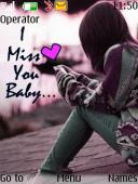 Miss U Baby S40 Mobile Phone Theme