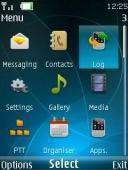 Navigator 3d S40 Mobile Phone Theme