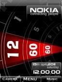 Nokia Mechanical Swf S40 Mobile Phone Theme