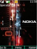 Nokia S40 Mobile Phone Theme