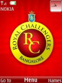 Royal Challengers S40 Mobile Phone Theme
