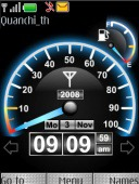 Download Free S40 Theme Speed Flash - 203 - MobileSMSPK net