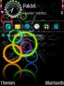 Circles Symbian Mobile Phone Theme
