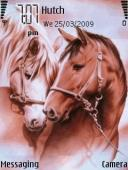 Horses Symbian Mobile Phone Theme