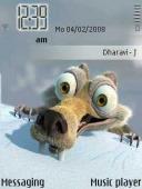 Ice Age Symbian Mobile Phone Theme
