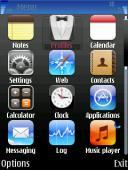 Iphone Symbian Mobile Phone Theme