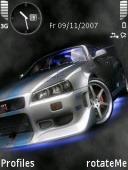 Nissan Symbian Mobile Phone Theme