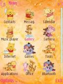 Pooh Symbian Mobile Phone Theme