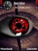 Sharingan Eye Symbian Mobile Phone Theme