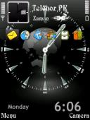 Clock Look Symbian Mobile Phone Theme