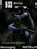 Counter Strike Symbian Mobile Phone Theme