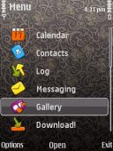 Cute Laxxus Symbian Mobile Phone Theme