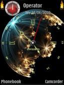 Globe Symbian Mobile Phone Theme