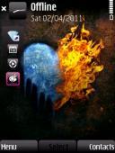 Heart Symbian Mobile Phone Theme