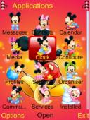 Mickey Mouse Symbian Mobile Phone Theme
