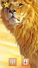 Lion Symbian Mobile Phone Theme