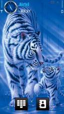 Tiger Symbian Mobile Phone Theme