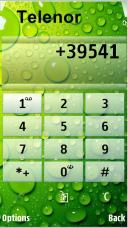 Dew Drops Symbian Mobile Phone Theme