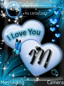 I Love You Symbian Mobile Phone Theme
