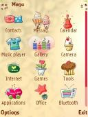 Icons Symbian Mobile Phone Theme