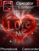 Love Me Symbian Mobile Phone Theme