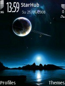 Night Sky Symbian Mobile Phone Theme