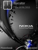 Nokia Connecting Symbian Mobile Phone Theme