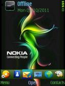 Rainbow Symbian Mobile Phone Theme