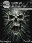 Skull Symbian Mobile Phone Theme