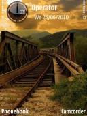 Train Symbian Mobile Phone Theme
